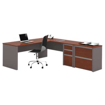 Picture for Connexion L-Shaped Workstation with Lateral File by Bestar