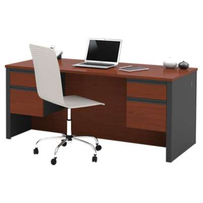 Picture for Prestige Plus Executive Desk with Dual Half Pedestals by Bestar