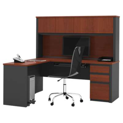 Picture for Prestige Plus L-Shaped Workstation Kit by Bestar
