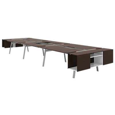 Picture of Turnstone Bivi Shared Table for Six by Steelcase