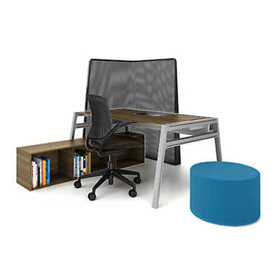 picture of turnstone bivi private office for one by steelcase bivi modular office furniture