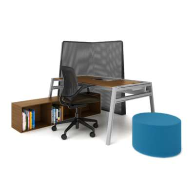 Picture for Turnstone Bivi Private Office for One by Steelcase