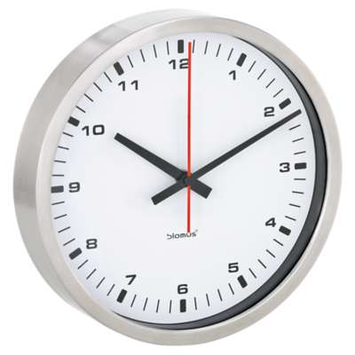 Picture for Era Small White Wall Clock by Blomus