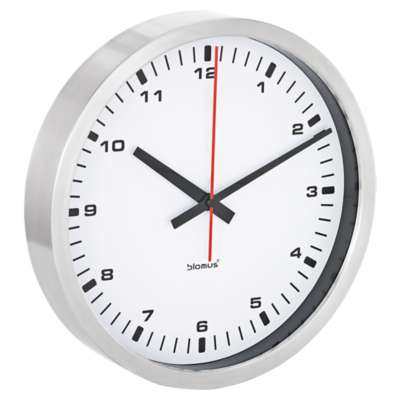 Picture for Era Large White Wall Clock by Blomus