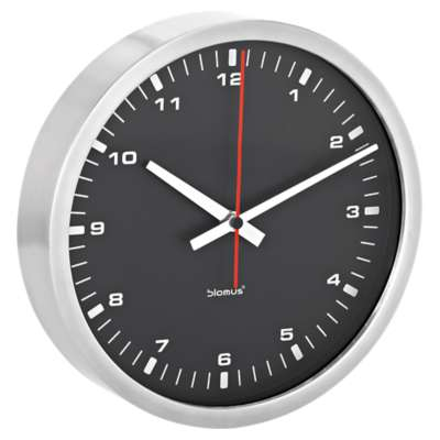 Picture for Era Medium Black Wall Clock by Blomus