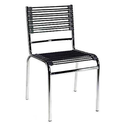Picture of Bungie Stacking Chair with Chrome Legs, Set of 4 by Smart Furniture