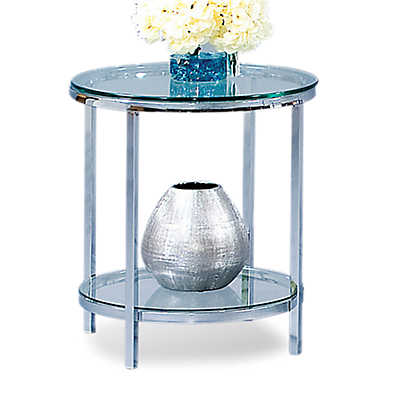 Picture of Patinoire Round End Table
