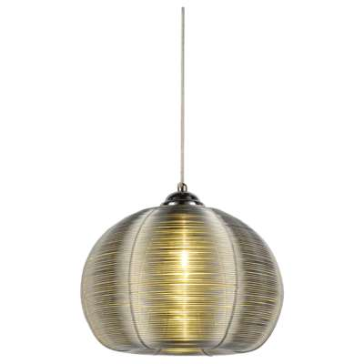 Picture for Lenox 1 Light Round Pendant, Silver by Bromi Design