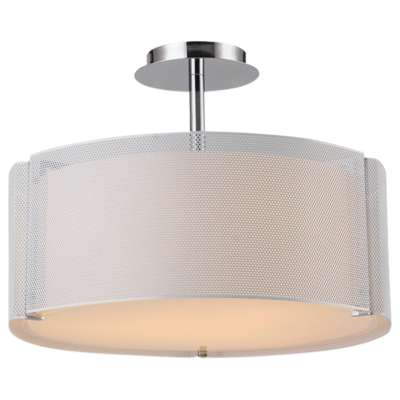 Picture for Lynch Iron Mesh Drum Pendant by Bromi Design