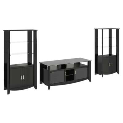 Picture for Aero 56in TV Stand and Tall Library Storage