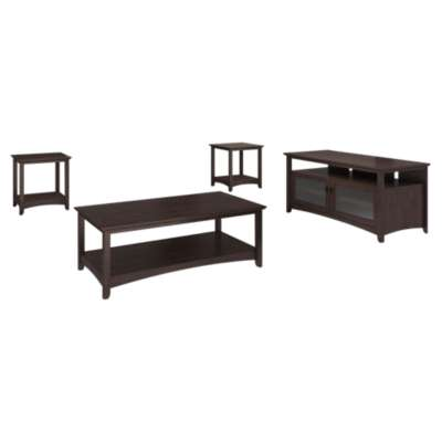 Picture for Buena Vista Madison Cherry TV Stand and Table Set