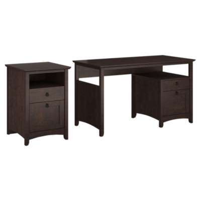 Picture for Buena Vista Single Pedestal Desk and 2-Drawer Pedestal