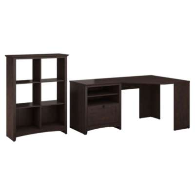 Picture for Buena Vista Corner Desk and 6-Cube Storage