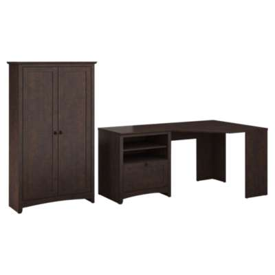 Picture for Buena Vista Corner Desk with Tall Storage