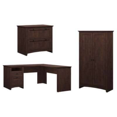 Picture for Buena Vista L-Desk with Lateral File and Tall Storage