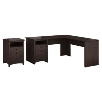 Picture for Buena Vista L-Desk and 2-Drawer Pedestal