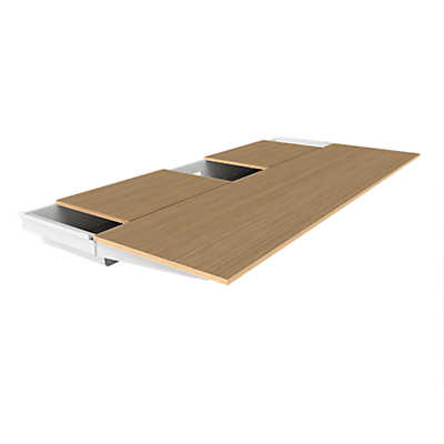Picture of Turnstone Bivi Table Top with Back Pocket by Steelcase