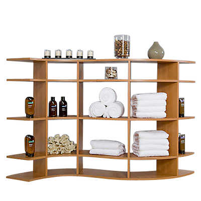 Picture of 5' Wide Contour Shelf C0306f001 by Smart Furniture
