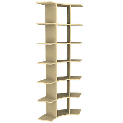 Picture of 6' Contour Tower Display by Smart Furniture