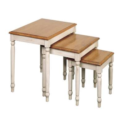 Picture for Country Cottage 3pc Nesting Table Set by Smart Fixtures