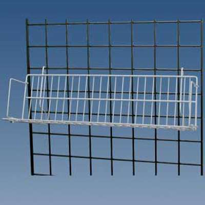 Picture for CD/DVD/Cassette Shelf for Grid by Smart Fixtures