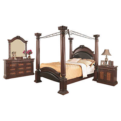 Picture of Grand Prado Canopy Bedroom Suite by Coaster