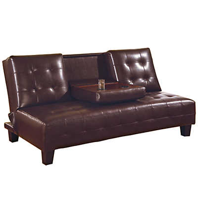 Picture of Judson Armless Tufted Sleeper Sofa by Coaster