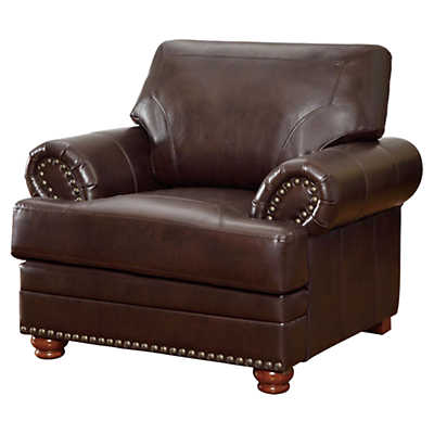 Picture of Colton Leather Chair by Coaster
