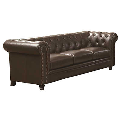Picture of Roy Leather Sofa by Coaster