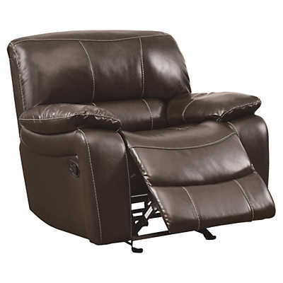 Picture of Alan Leather Glider Recliner