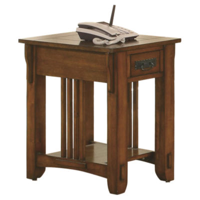 Picture of Mission Hill Side Table by Coaster