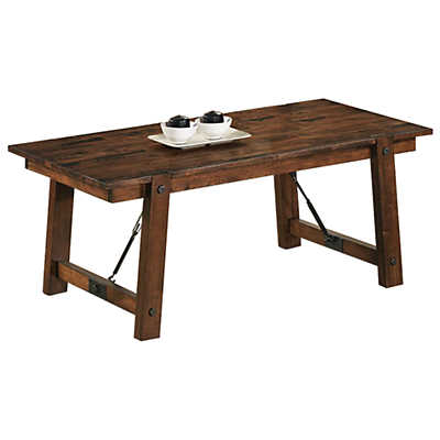 Picture of Rustic Paneled Coffee Table
