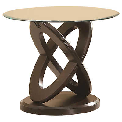 Picture of Interlocking Oval End Table