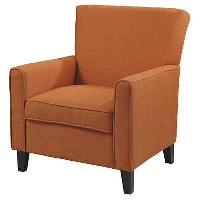 Picture of Alvah Accent Chair in Rust Orange by Coaster