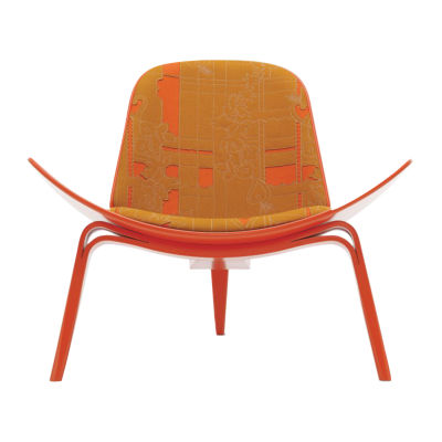 Picture of Maharam Layers Park Double Shell Chair