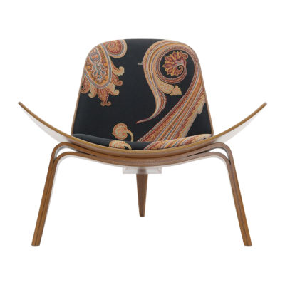 Picture of Maharam Massive Paisley Shell Chair