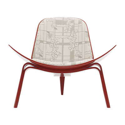 Picture of Maharam Park Shell Chair