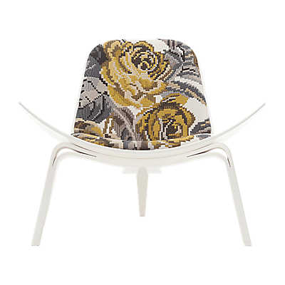 Picture of Maharam Deconstructed Rose Shell Chair
