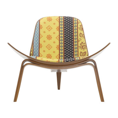 Picture of Maharam Alpine Stripe Shell Chair
