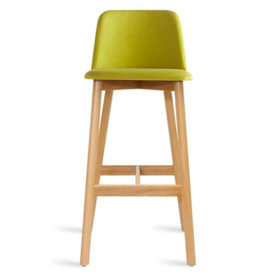 CH1BAR-BRIGHTGREENOAK: Customized Item of Chip Bar Stool by Blu Dot (CH1BAR)