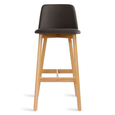 CH1BAR-GUNMETALOAK: Customized Item of Chip Bar Stool by Blu Dot (CH1BAR)