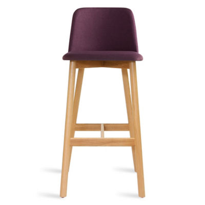 CH1BAR-PURPLEOAK: Customized Item of Chip Bar Stool by Blu Dot (CH1BAR)