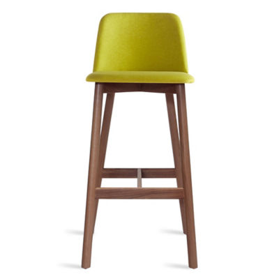 CH1BAR-BRIGHTGREENWALNUT: Customized Item of Chip Bar Stool by Blu Dot (CH1BAR)