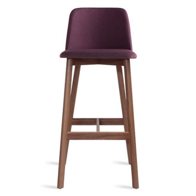 CH1BAR-PURPLEWALNUT: Customized Item of Chip Bar Stool by Blu Dot (CH1BAR)