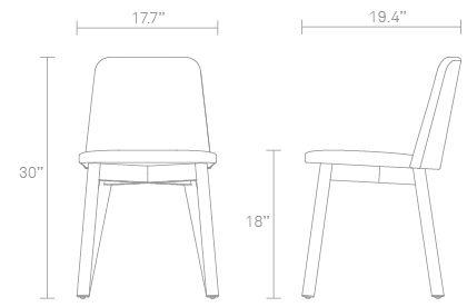 Knicker Chair Dimensions