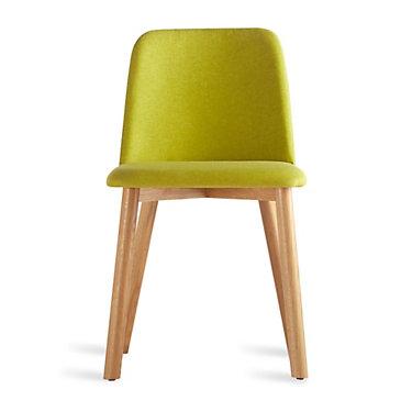 CH1CHR-BRIGHTGREENWALNUT: Customized Item of Chip Dining Chair by Blu Dot (CH1CHR)
