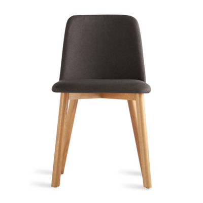 CH1CHR-GUNMETALOAK: Customized Item of Chip Dining Chair by Blu Dot (CH1CHR)