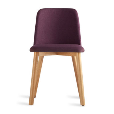 CH1CHR-PURPLEOAK: Customized Item of Chip Dining Chair by Blu Dot (CH1CHR)