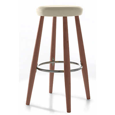 Picture of Hans Wegner CH56-58 Dining Stool by Carl Hansen