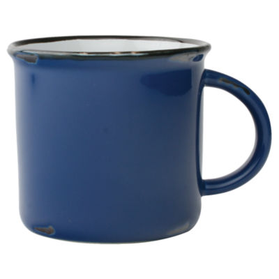 Picture of Tinware Blue Mug, Set of 4